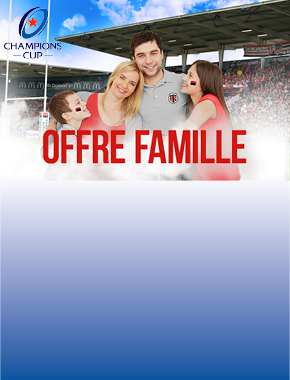 OFFRE - STADE TOULOUSAIN / LEINSTER RUGBY